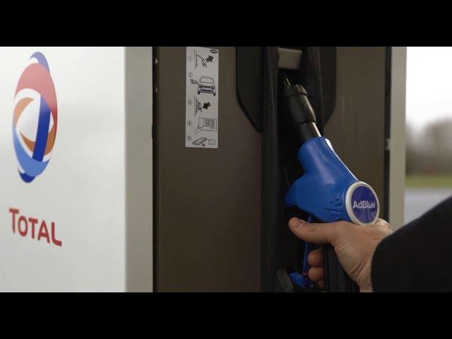 Faire le plein d'Adblue® à la pompe