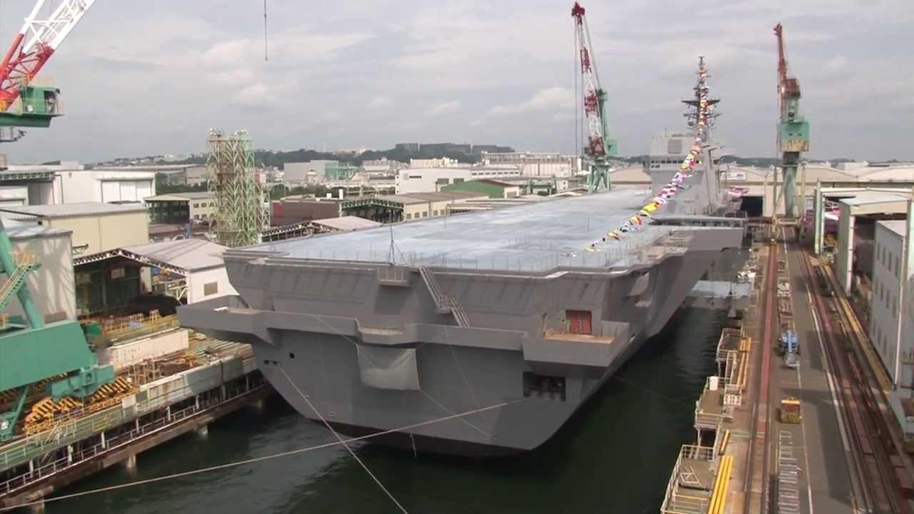 """命名・進水式】 新型護衛艦 """"22D..."""