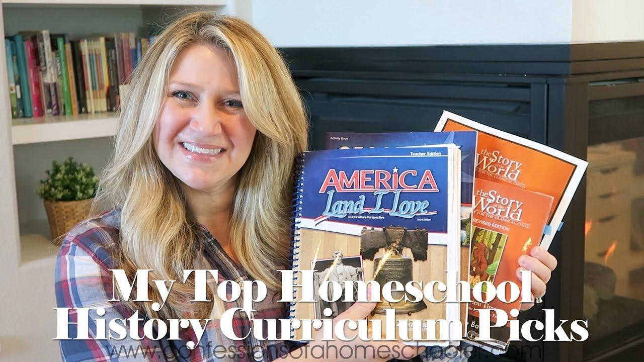 My Top Homeschool History Curriculum Picks Youtube