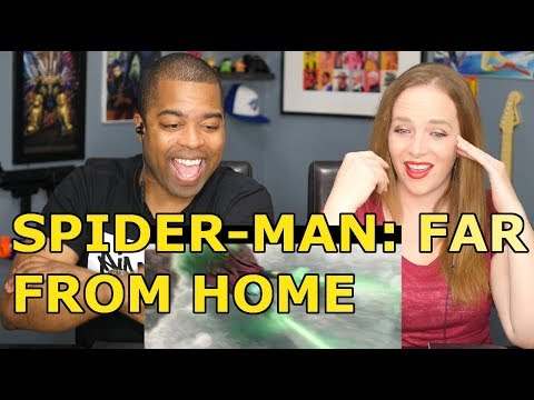 SPIDER-MAN: FAR FROM HOME – Official Trailer (COUPLES THERAPY REACTION 🔥)