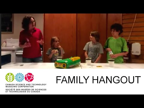 Family Google Hangout - Bees