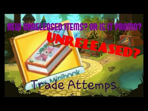 NEW UNRELEASED ITEM!?! l TRADE ATTEMPS FOR IT!
