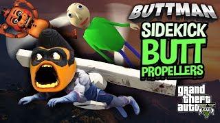 Adventures of Buttman #38 - SIDEKICK BUTT PROPELLERS!!!