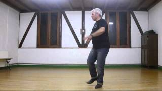 Country line dance Honky Tonk Rocking (Demo & tutorial)