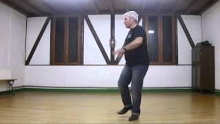 Country line dance Honky Tonk Rocking (Demo & tutorial)