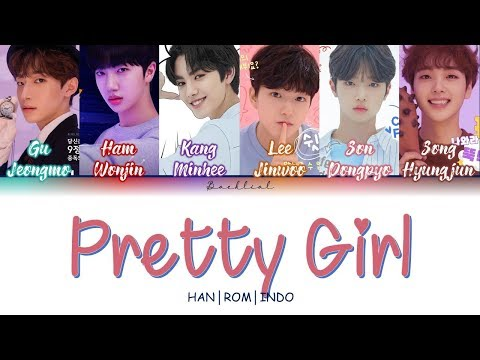 [PRODUCE X 101] CRAYON (크레파스) - 이뻐이뻐 (Pretty Girl) (HAN/ROM/INDO Color Coded Lyrics/가사)