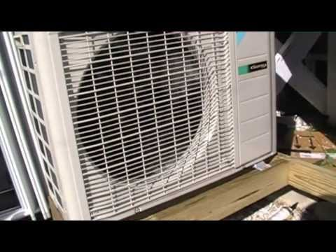 HVAC Install-  Daikin Heat Pump Mini Split