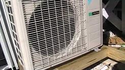 HVAC Install-  Daikin Heat Pump Mini Split