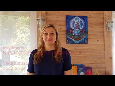 2020 09 27 Meditacija: NAUJA TAVO PATIES VERSIJA.