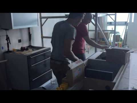 Loft kitchen installation