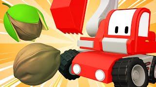 Kleine LKW - Enchanted-Mutter - Kinder-Animation mit Street Fahrzeuge, Bulldozer, Bagger & Kran