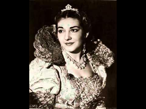 Maria callas la traviata doovi - Testo di casta diva ...