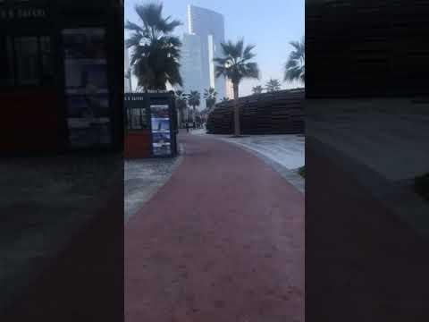Morning walk in kite beach – Dubai