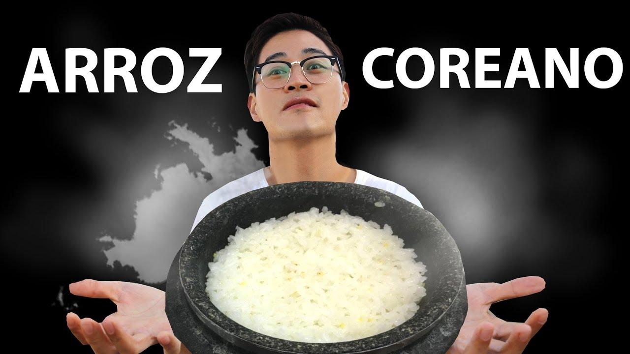 como cocinar arroz coreano