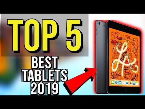 ✅ TOP 5: Best Tablet 2019