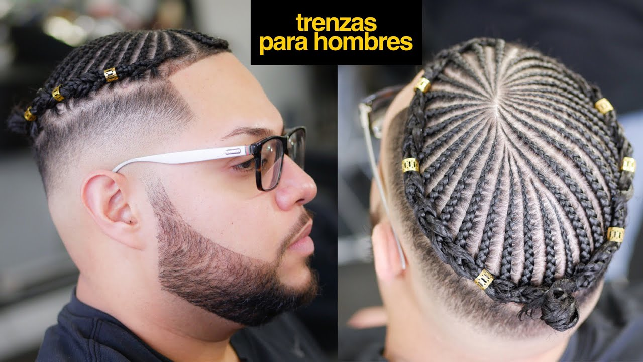Peinados Para Hombres 2018 Trenzas Cortes De Pelo Hombre