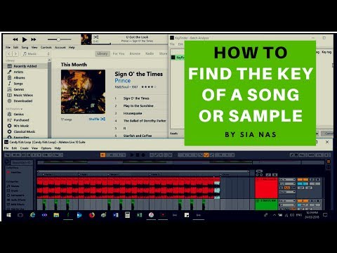 How to find the key of a song or sample