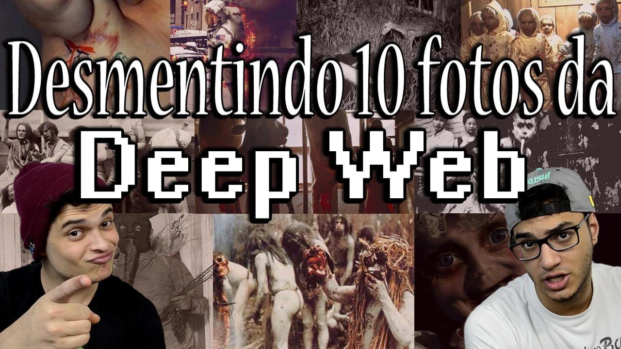 Desmentindo 10 fotos da Deep Web