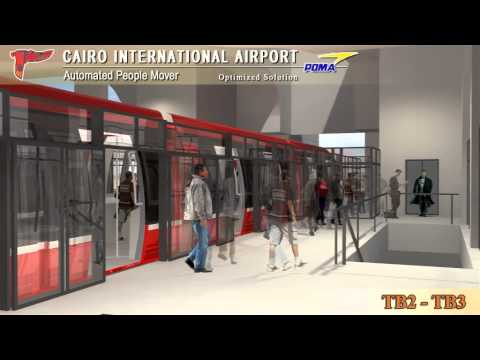 APM (Automated People Mover) Cairo Airport