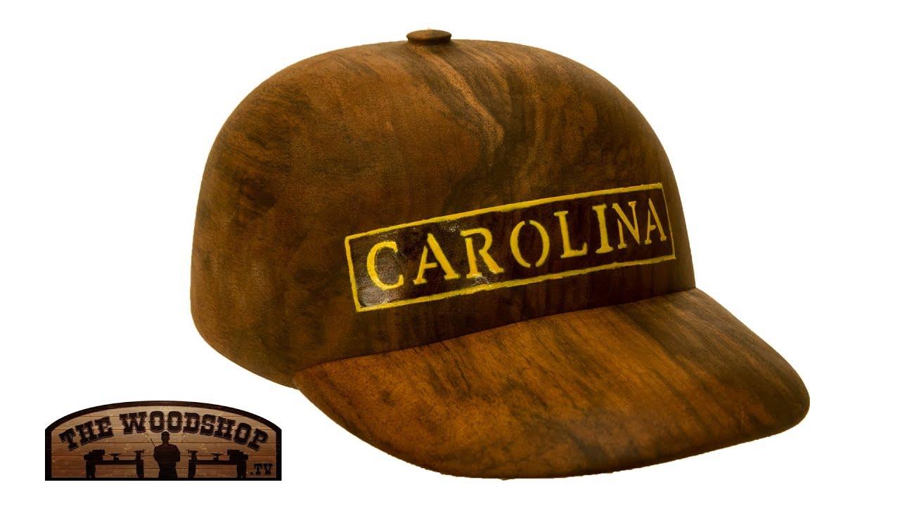 a2b93f68 Woodturning Wood Baseball Hat - YouTube