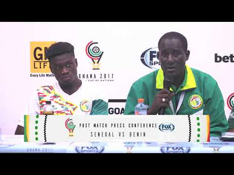 Senegal vs Benin press conference