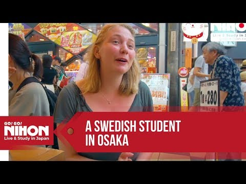 Sarah's Testimonial as a Swedish Student in Osaka - Presented by Go! Go! Nihon