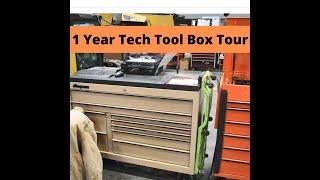 Heavy Equipment Tool Box Tour
