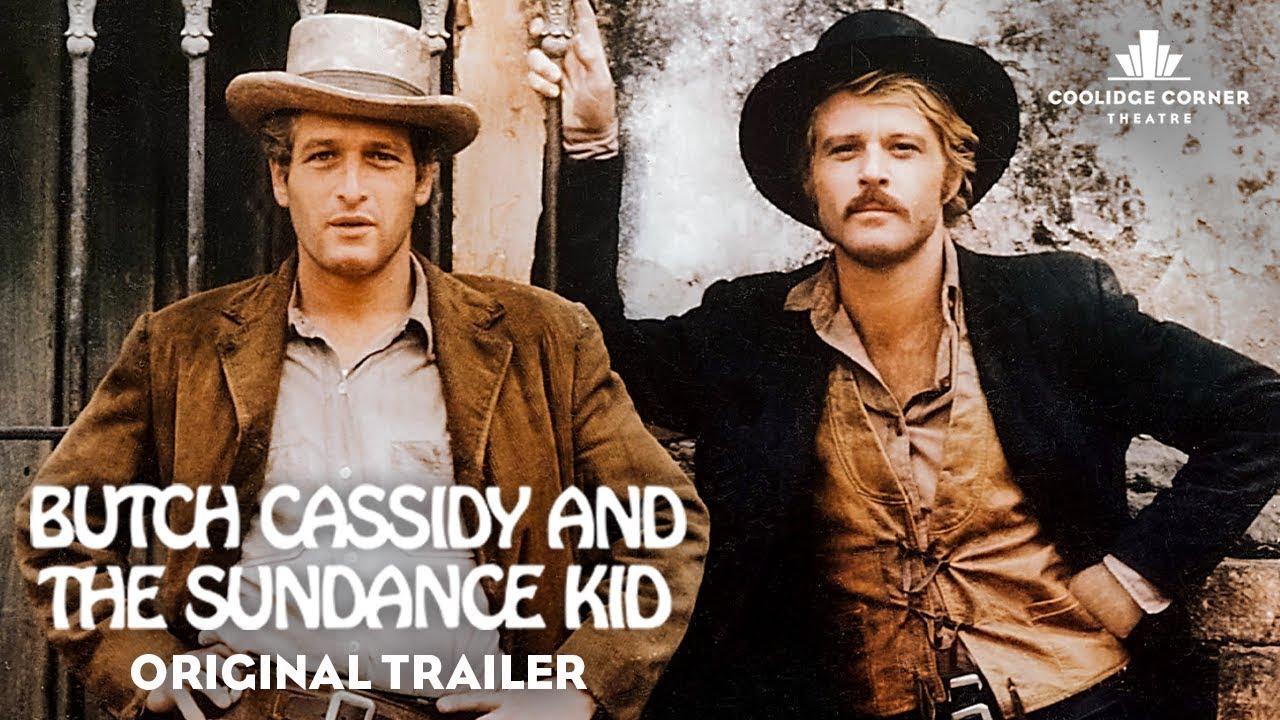 Butch Cassidy and the Sundance Kid | Original Trailer [HD] | Coolidge  Corner Theatre - YouTube