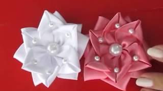 Flor do Oriente – Flor de Fita de Cetim