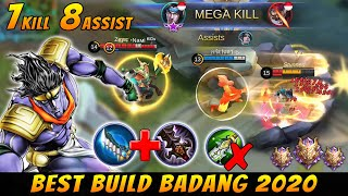 Best Build Badang & Gameplay Anti Meta Hanzo HyperCarry - Mobile Legends