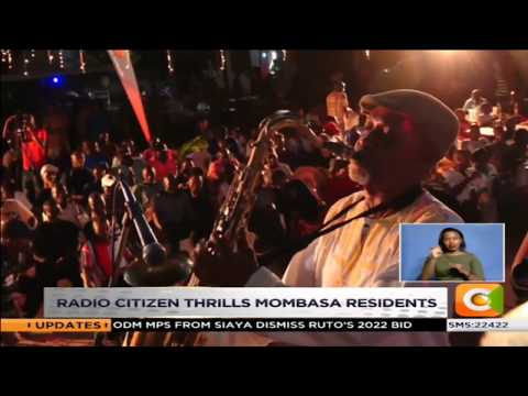 Radio citizen thrills Mombasa residents