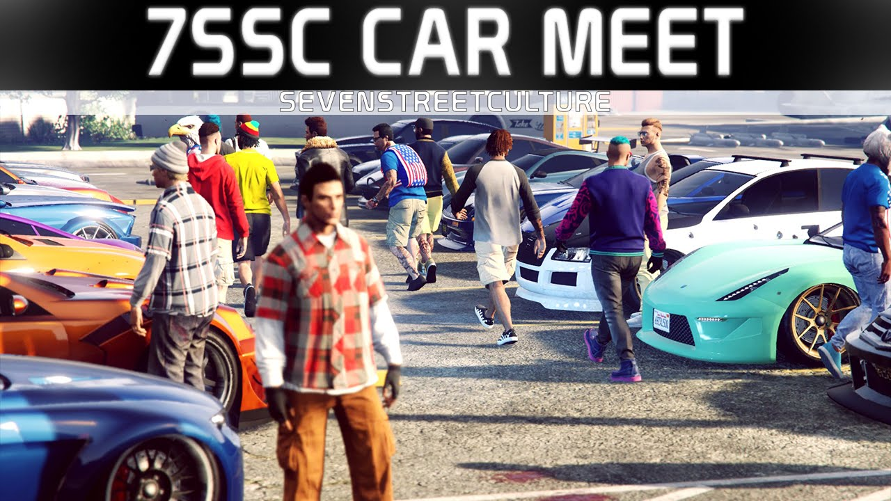 gta 5 online sevenstreetculture 7ssc car meet drag. Black Bedroom Furniture Sets. Home Design Ideas