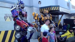 Autobots Roll Out At Universal Studios Florida