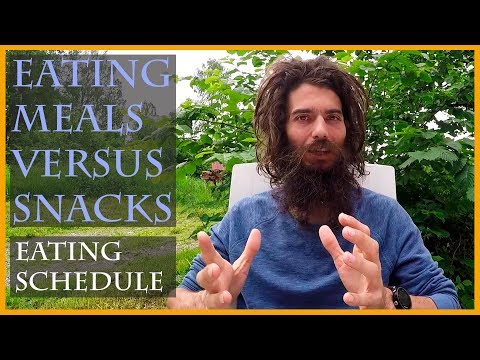 THE ART OF SNACKING: MEAL SCHEDULING ON A FRUIT BASED DIET