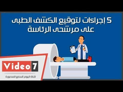 فيديوجراف.. 5 إجراءات لتوقيع الكشف الطبى على مرشحى الرئاسة  - 14:22-2018 / 1 / 21