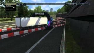 Euro Truck Spezial: LKW-Rangier-Simulator rondomedia Trailer II