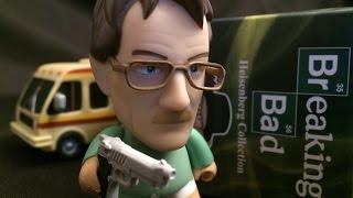 Breaking Bad Heisenberg Collection Titans Vinyl Figures Full Case Unboxing