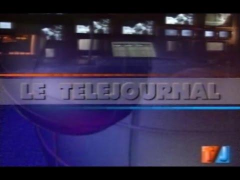 TSR - Générique du Téléjournal Suisse TJ (1993)