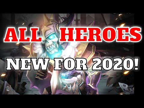 NEW For 2020!  Castle Clash All Heroes Talents Insignias Traits Teams