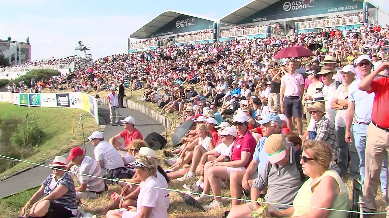 Open de France : 60 000 spectateurs au golf national
