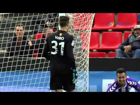 Resumen de Gimnàstic de Tarragona (1-1) Real Valladolid
