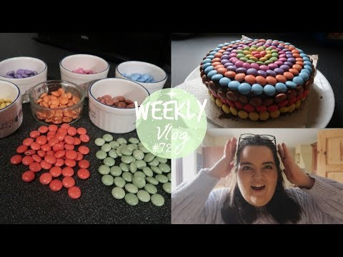 WEEKLY VLOG #72 | Smartie Piñata Cake | Tea Time With Ciara
