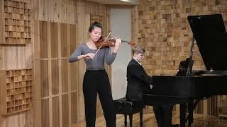 Barber Violin Concerto, I. Allegro Jocelyn Zhu