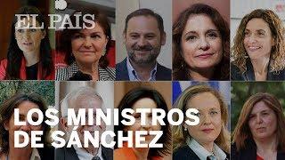 NUEVO GOBIERNO de PEDRO SÁNCHEZ: Así son los ministros