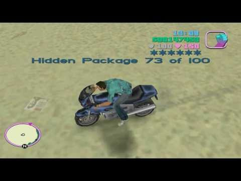 GTA Vice City all Hidden Packages