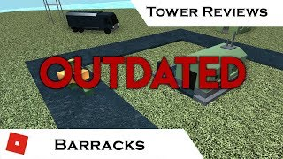 Barracks (Outdated) | Tower Reviews | Tower Battles [ROBLOX]