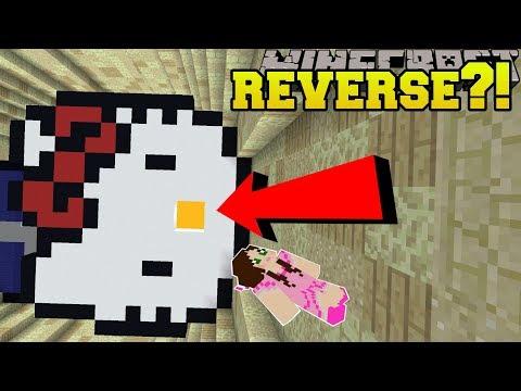 Minecraft: UPSIDE DOWN DROPPER!!! – ANTIDROPPER 2 – Custom Map [1]