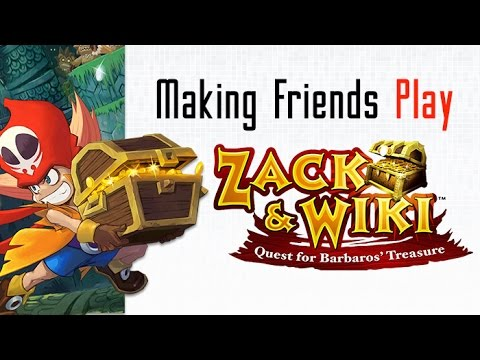 Making Friends Play - Zack and Wiki