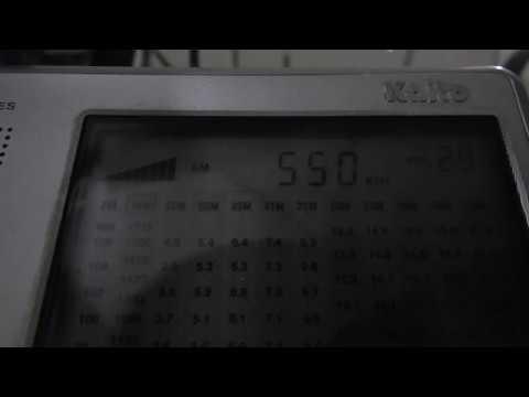 550 kHz ABC Radio, Honduras, C.A.