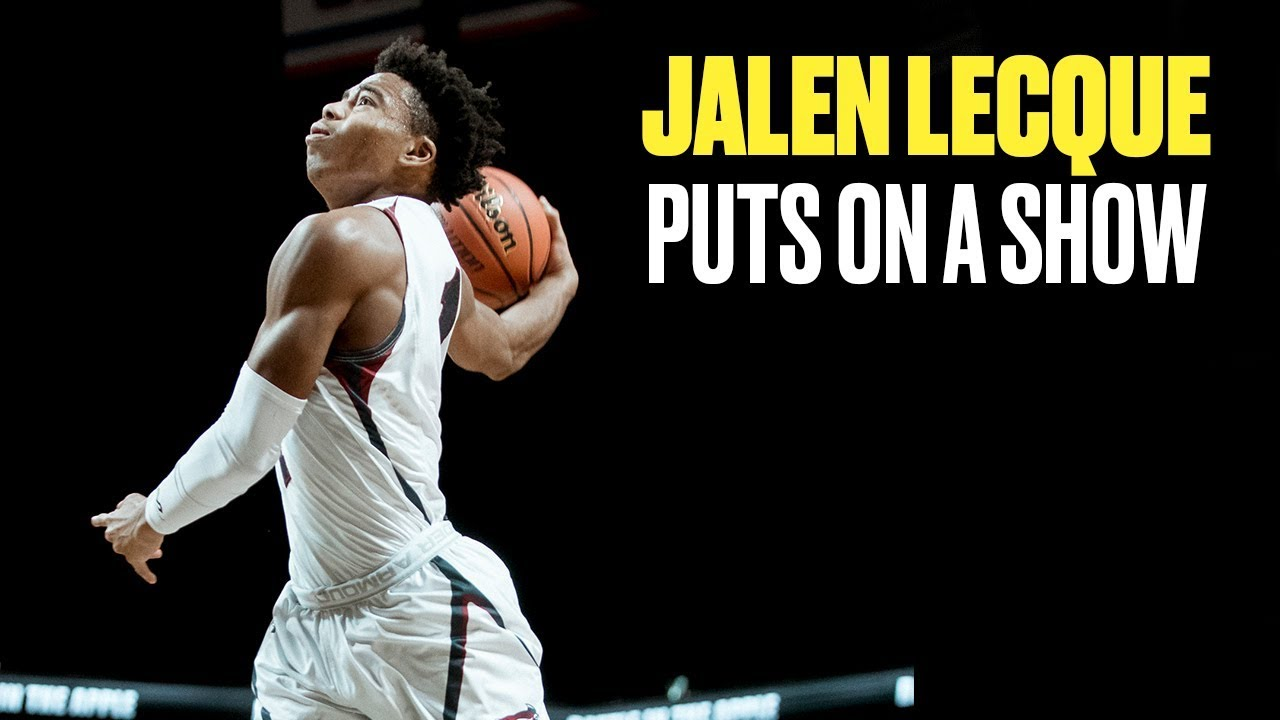 Jalen Lecque and Brewster Academy Take NYC BY STORM